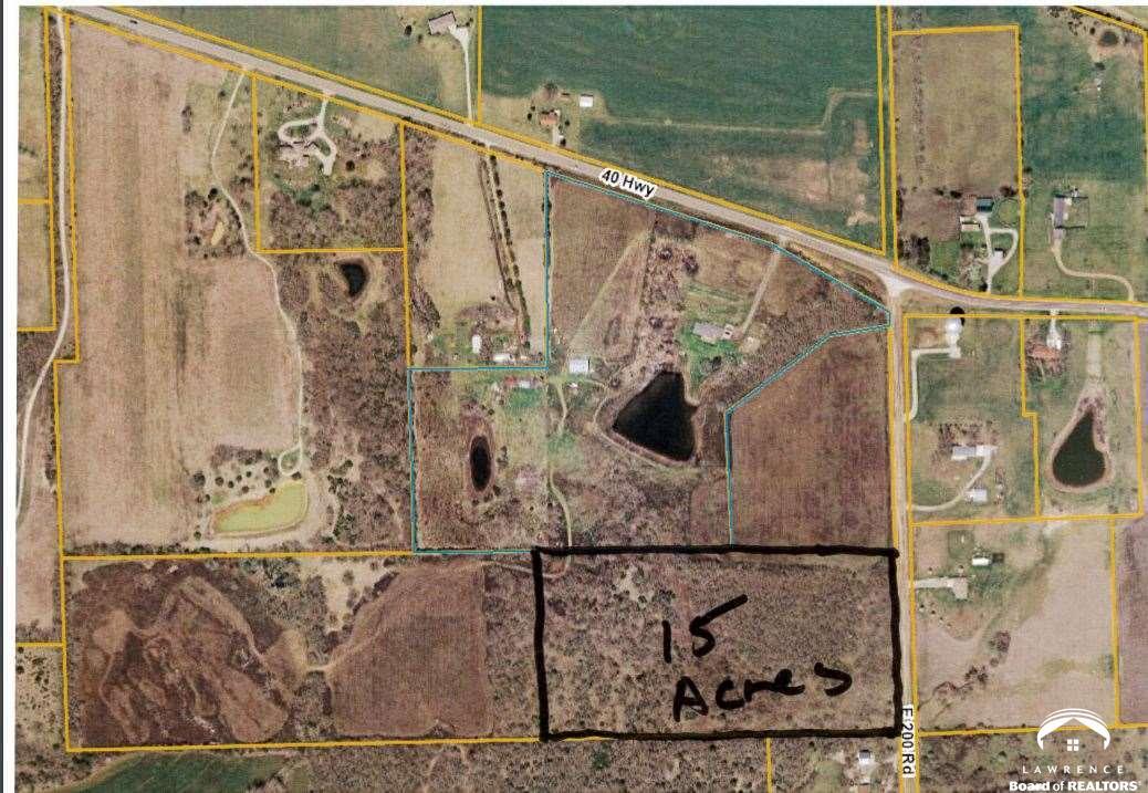 Land 15 Acres E 200 Road, Lecompton, KS 66050