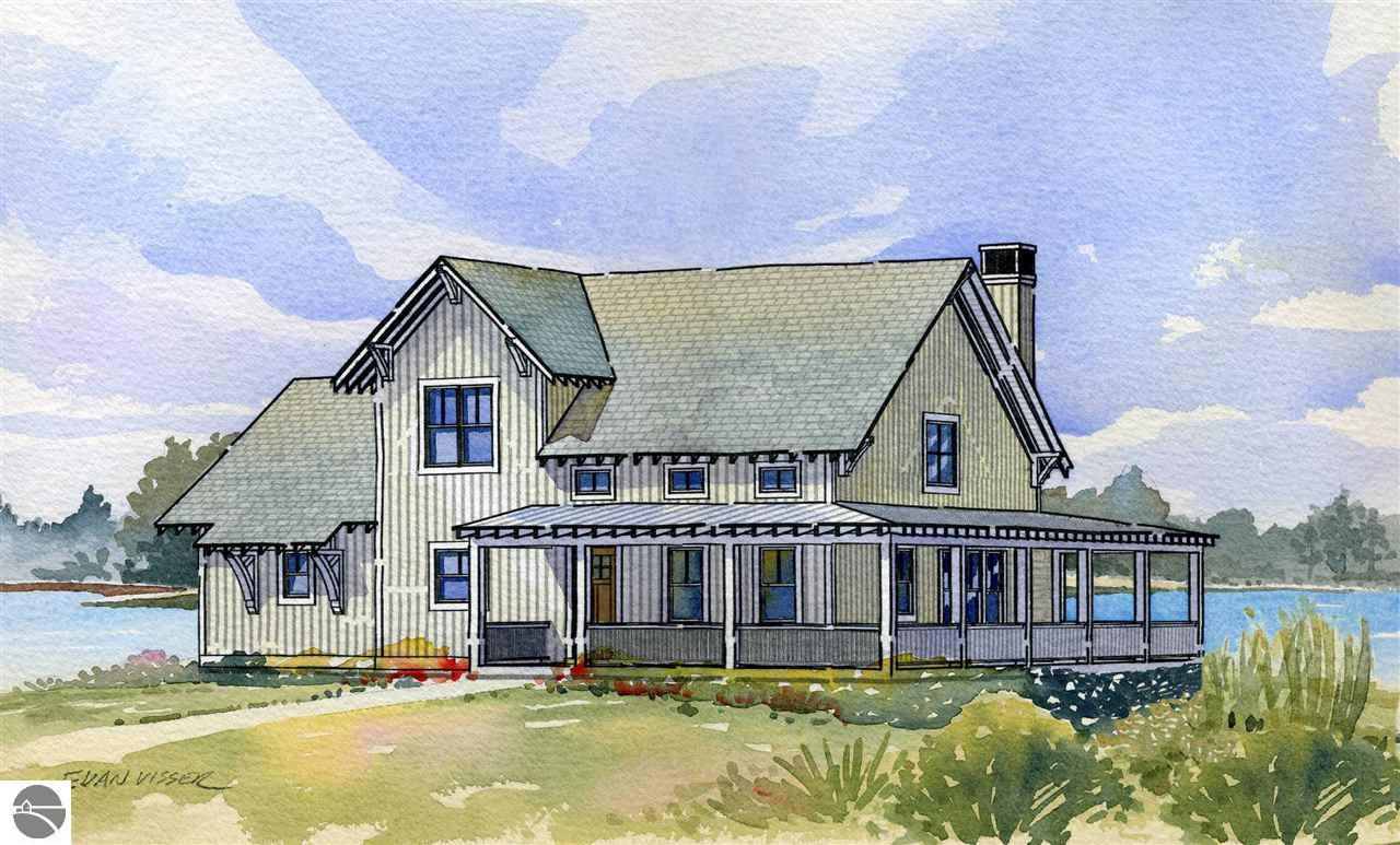 Property for sale at (To Build) 2351 E Penwood Trail, Leland,  MI 49654