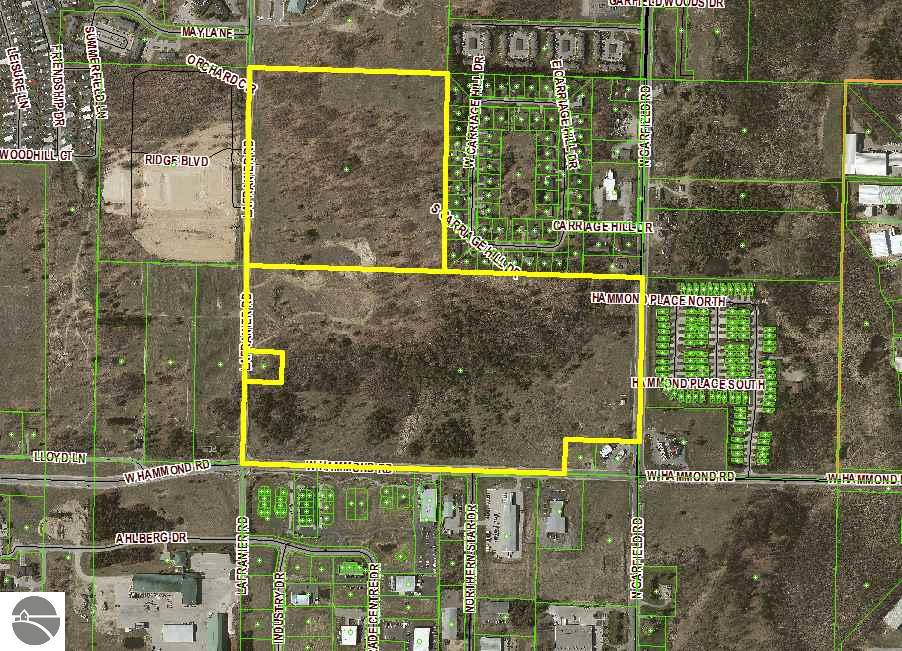 Property for sale at 106 Acres Garfield Road, Traverse City,  MI 49686