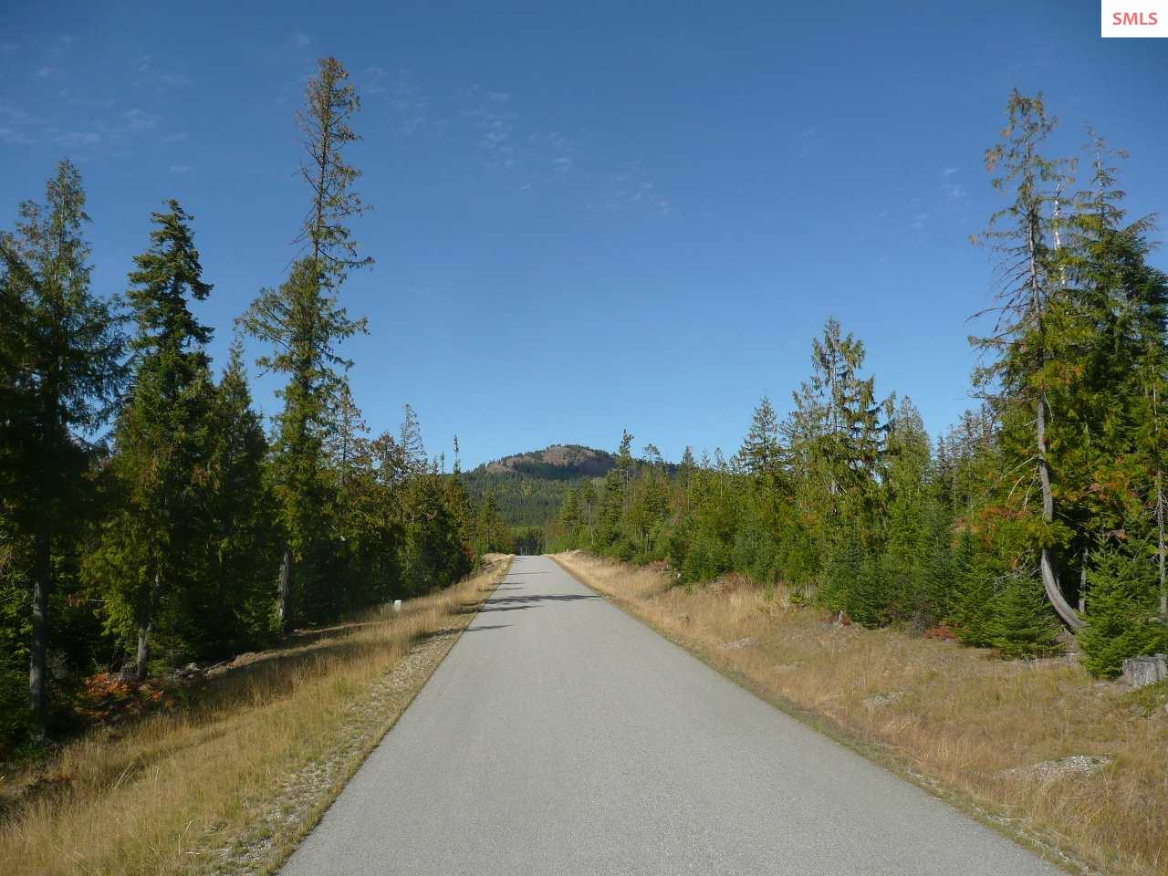 Unique Opportunity ! 36 Acre parcel located on a paved road with multiple uses possible. Perfect for an Estate or Family Compound. In addition, has tentative Plat approved for a 6 lot subdivision. Mountain Views all around and wildlife in abundance. Located at the base of Grouse Mountain,  just 4 miles from Hwy 95 or the Boat Launch at Garfield Bay and just 8 miles to Sandpoint.