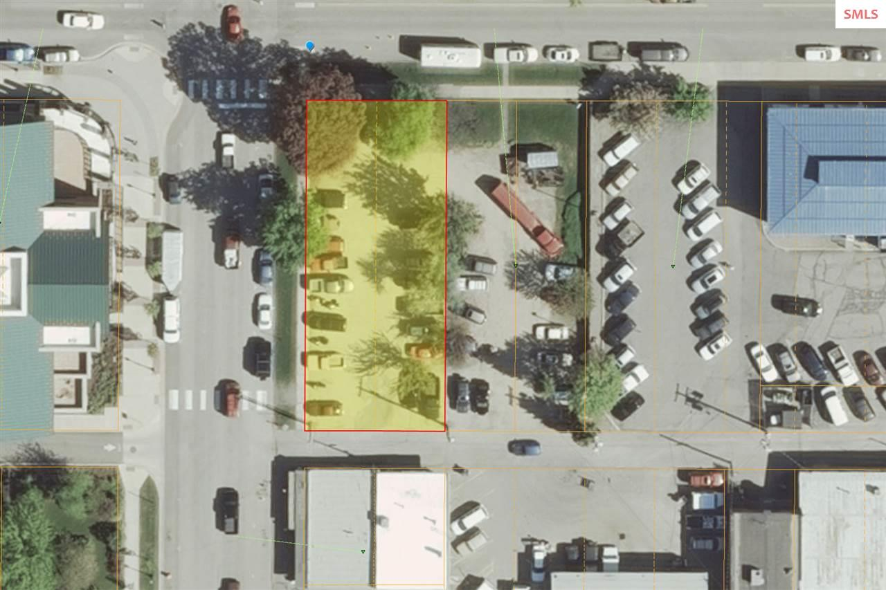 Prime location commercial corner lot in downtown Sandpoint.  60x142
