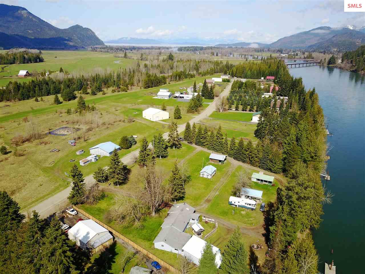 Single Family Home for Sale at 145 N River Lake Drive 145 N River Lake Drive Clark Fork, Idaho 83811 United States