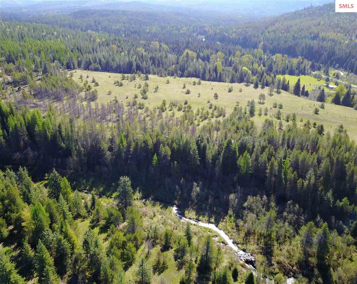 Here it is. 82 acres of premium northern Idaho land. Year round creek with resident Brook Trout, 360 degree views of the Cabinet and Selkirk Mountain Ranges, southern exposure, wildlife...the list goes on. The Main portion of land is an older, level, hay field which will allow for a beautiful home site with commanding views and incredible privacy. The property is surrounded by timber and if you orient your new home to the south and west, the view of Schweitzer will be terrific. This parcel of land has been in the same family for over 50 years...Now is your chance to own it!
