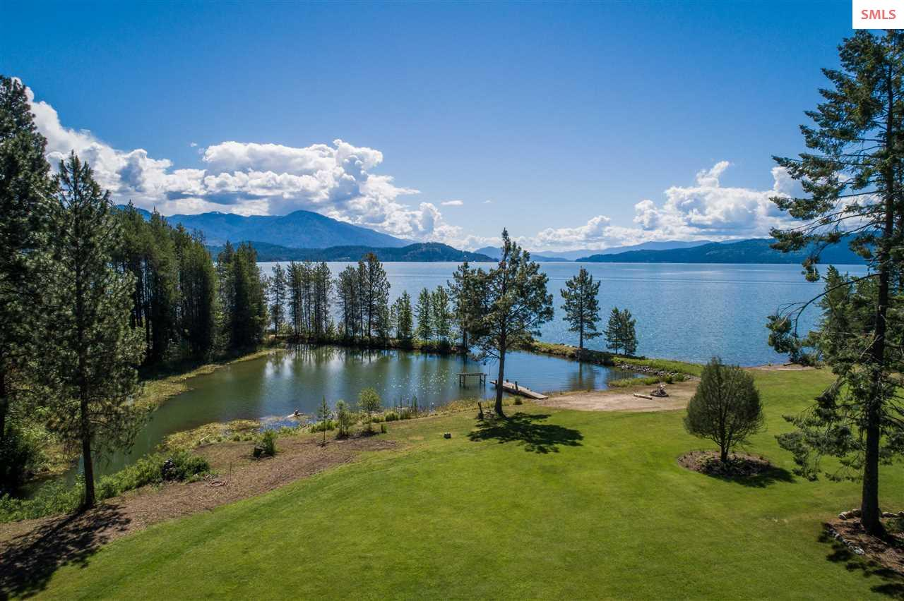 Lake Pend Oreille Waterfront Homes
