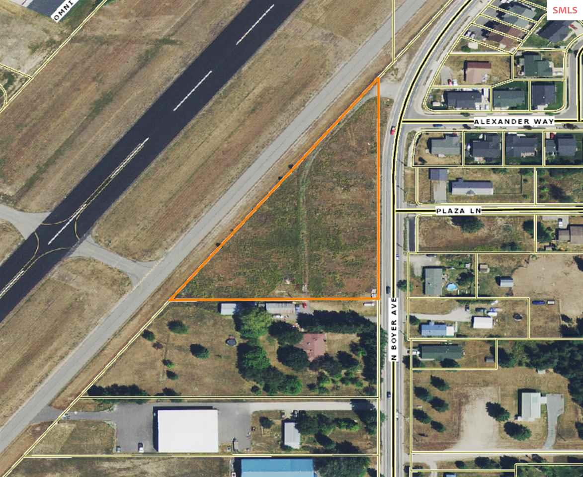 A one of a kind location adjacent to Sandpoint's airport, expand your building horizons, build hangers or open commercial space!