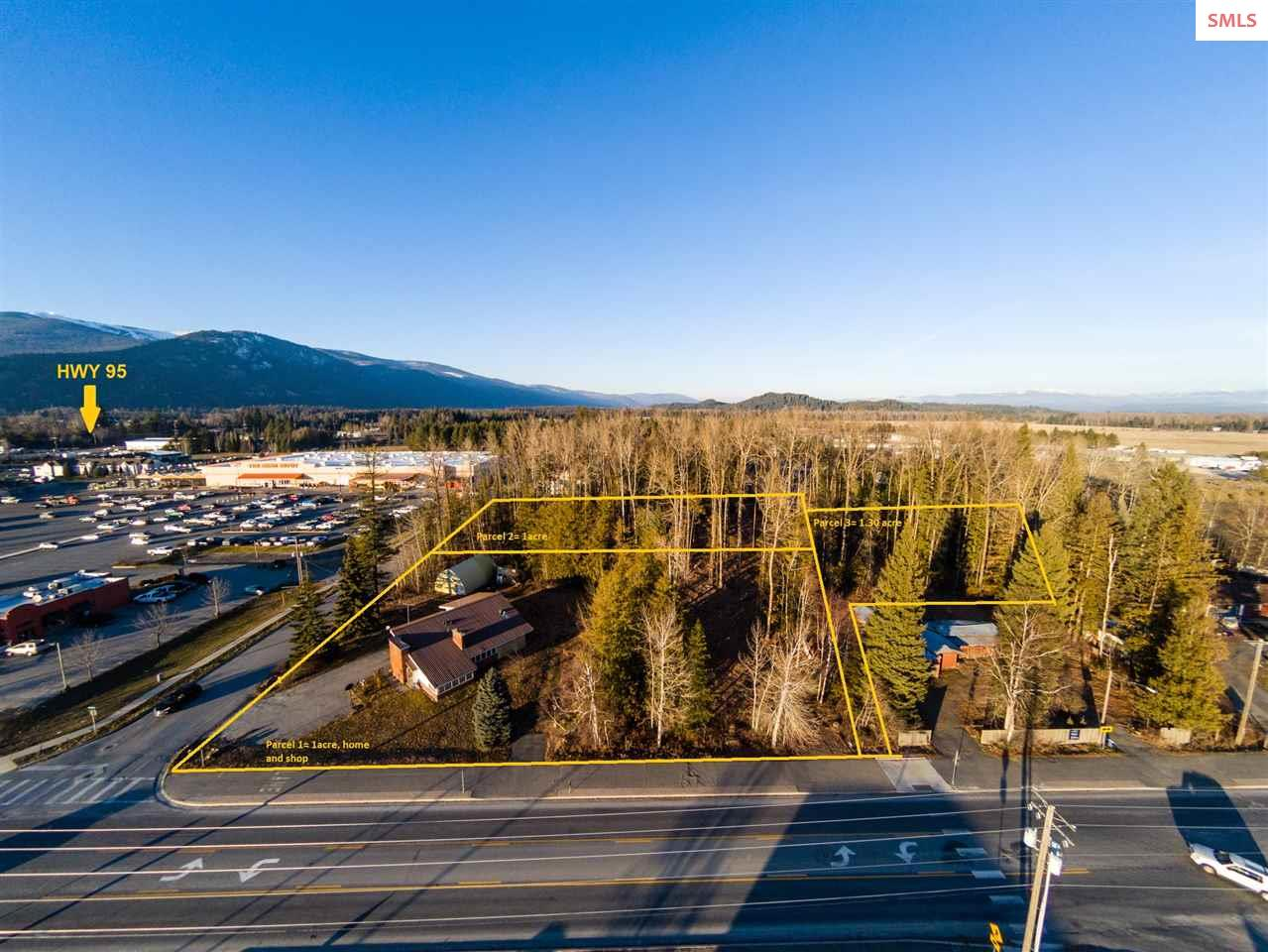 Land for Sale at 810 Kootenai Cutoff 810 Kootenai Cutoff Ponderay, Idaho 83852 United States