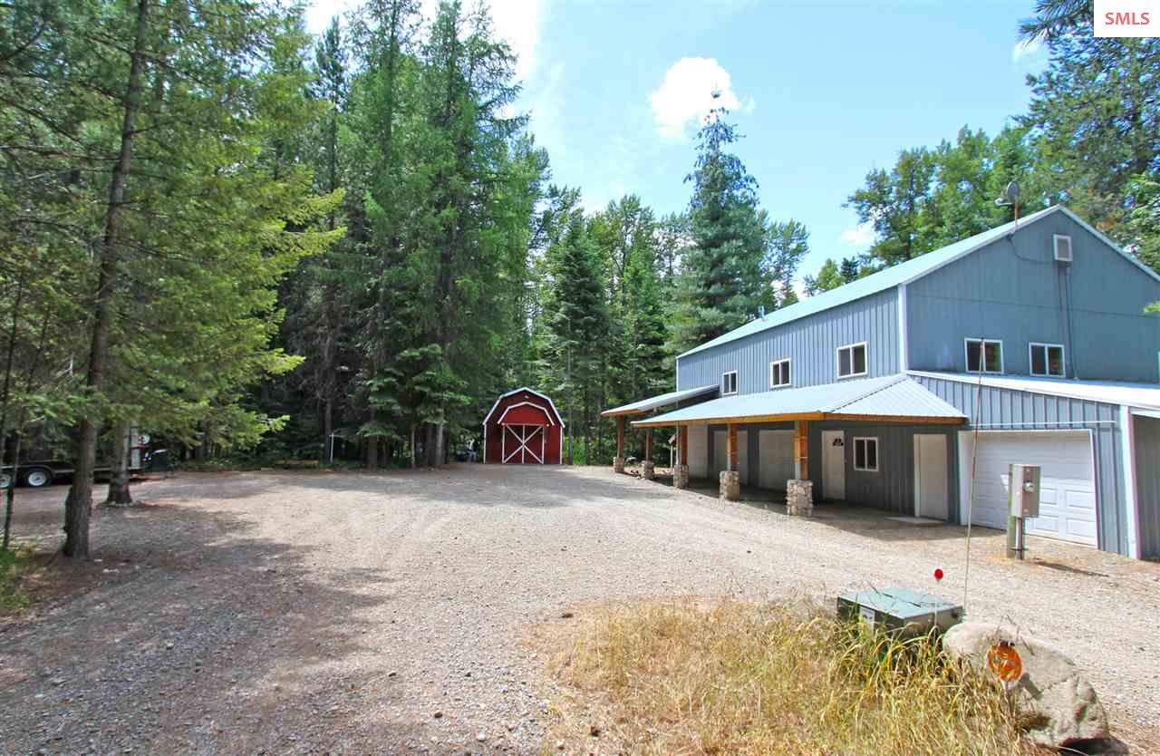 Single Family Home for Sale at 224 Haughey Drive (10 acres) 224 Haughey Drive (10 acres) Cocolalla, Idaho 83813 United States