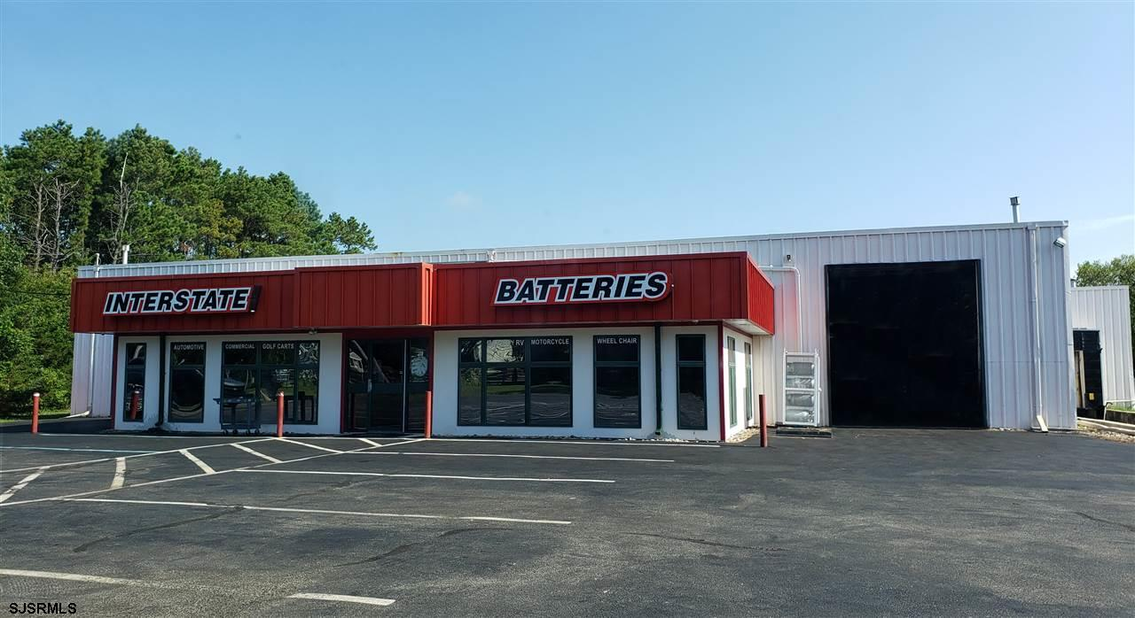 Investment Property, 9600 sqft leased to Interstate Batteries. Building has approx 1,000 sqft office and 8,600 sqft warehouse with 2 drive-in OH doors and 1 tailgate with leveler. Interstate just exercised its extension. Current Base Rent is $63,000 with Tenant also paying Real Estate Taxes, Building Maintenance, Trash Removal and all Utilities. *** The next increase in Base Rent is March 1, 2020 at which time it increases to $66,000/yr***  Interstate Battery has operated at this location for nearly 20 years.  The building is presently connected to public water supply and the Owner is in the process of completing its connection to public sewer.  Zoning is RG2.  Building is grandfathered use there.