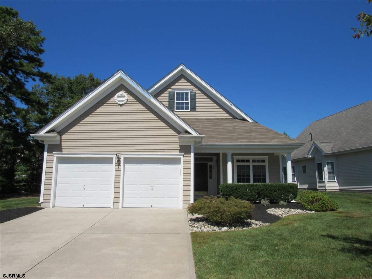 Village Grande @ English Mill, Adult Community. Well maintained 2 Bedroom/2 Bath home is move in ready. Home features1st floor master suite w tray ceiling, walk-in closet. Kitchen w pantry & recessed lighting. In addition, gleaming hardwood floors, new carpet & freshly painted. Great clubhouse & activities for all!