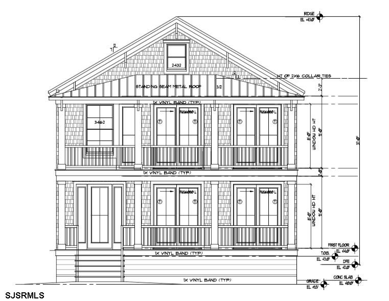 TO BE BUILT !  New Construction by Herndon Builders.  Beach Block with no streets to cross.  Spaciou