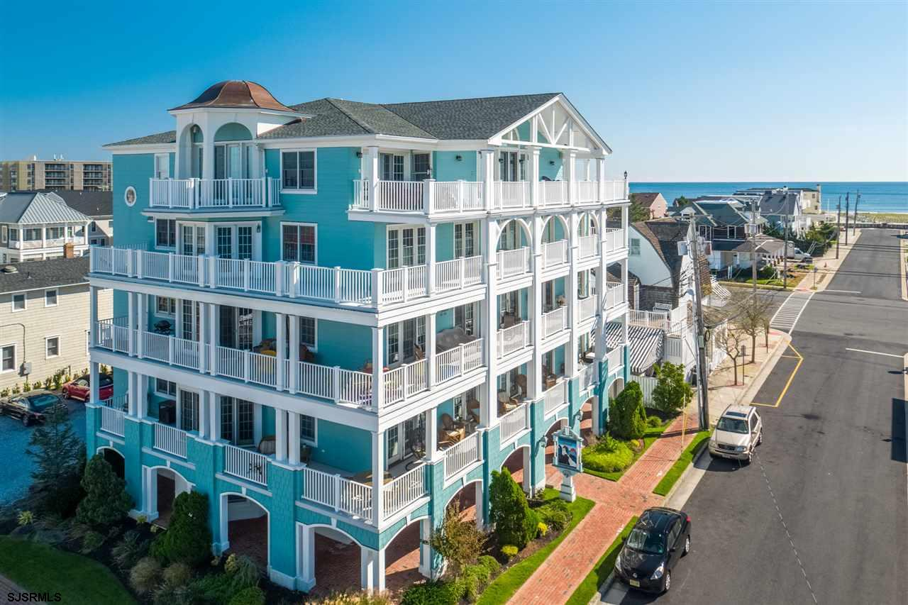 "Longport ""Winchester House"" a one of kind stunning Penthouse condominium with approx. 2800 sq ft of"