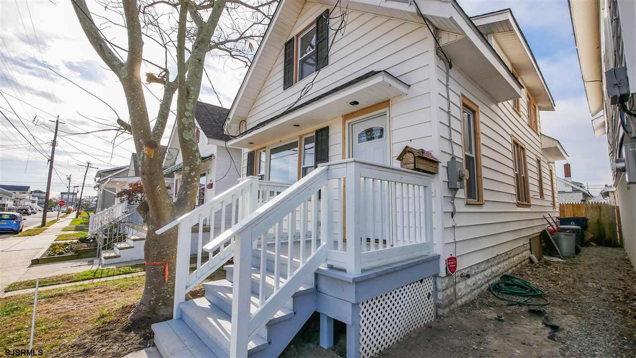 This is the one you have been waiting for.  Totally gutted on the inside, this 3 bedroom 2 bath home