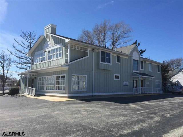 Existing medical offices on 2 floor broken down into 3 units. Floor plan easily adaptable to any professional use. Great off street parking, high visibility corner location. One block from hospital, multiple marine uses, restaurants, public beach in the center of the action in Somers Point.