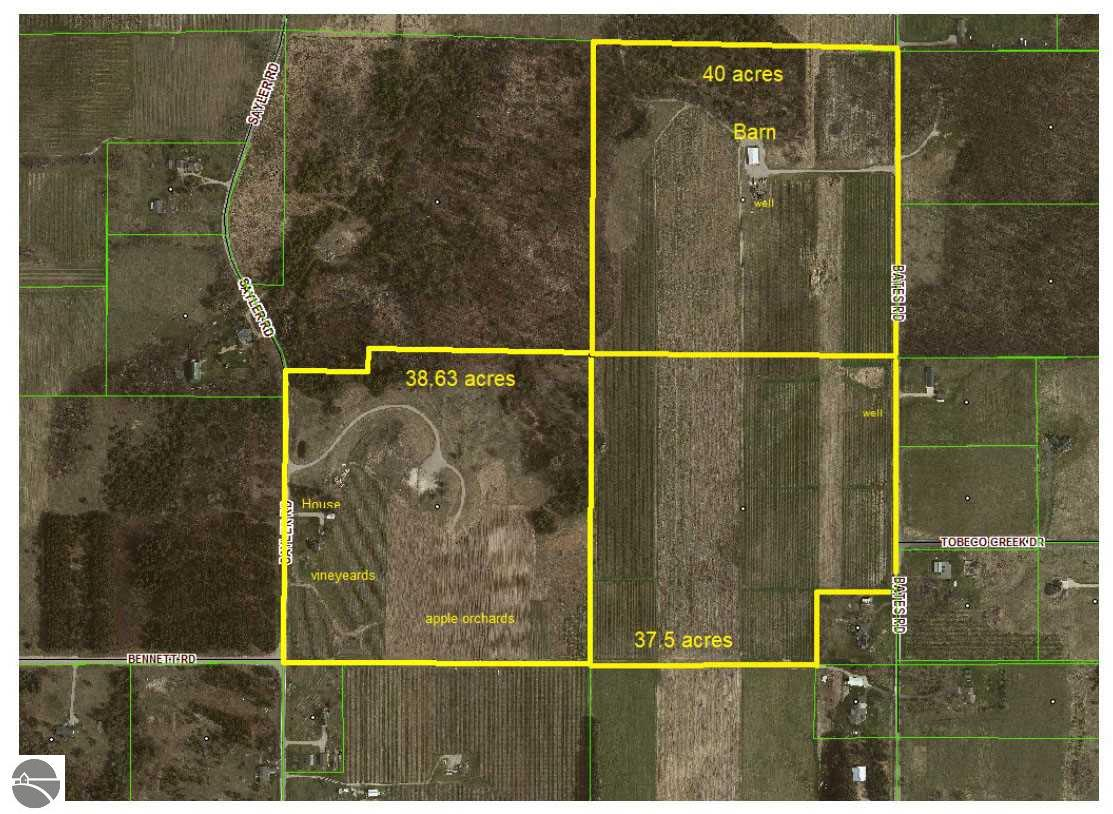 Property for sale at 8114 + Sayler Road, Williamsburg,  Michigan 49690