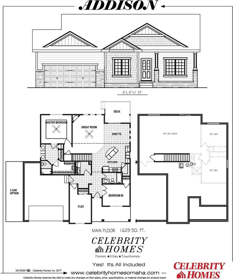 7919 S 187 Street Gretna NE 68028 – Celebrity Home Floor Plans