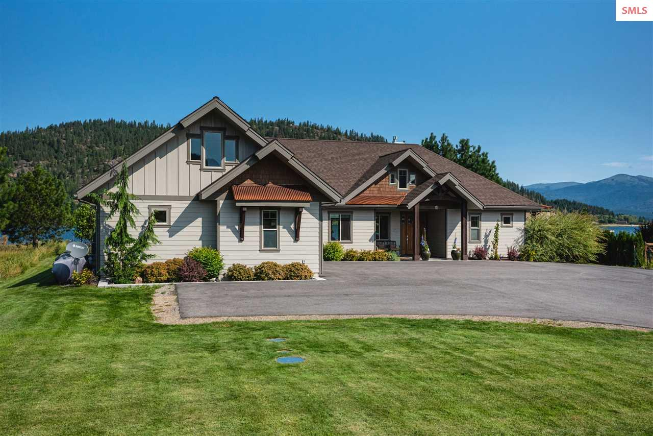 Sagle Idaho Waterfront Real Estate listings for sale
