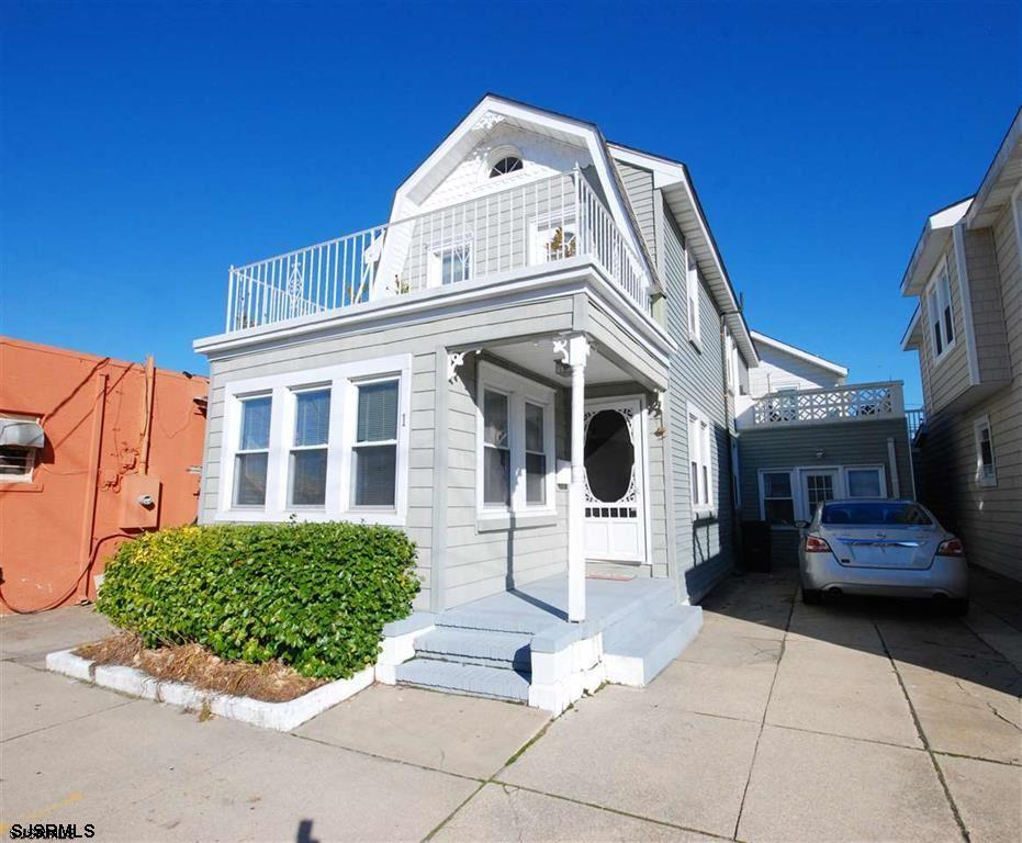 Steps to beach and all the action! Great open layout plus sunporch, two spacious decks on second floor and storage area perfect for bikes and beach chairs! Move in for summer fun!  Southside near Lucy the Elephant, ice cream parlors, restaurants, playground etc.