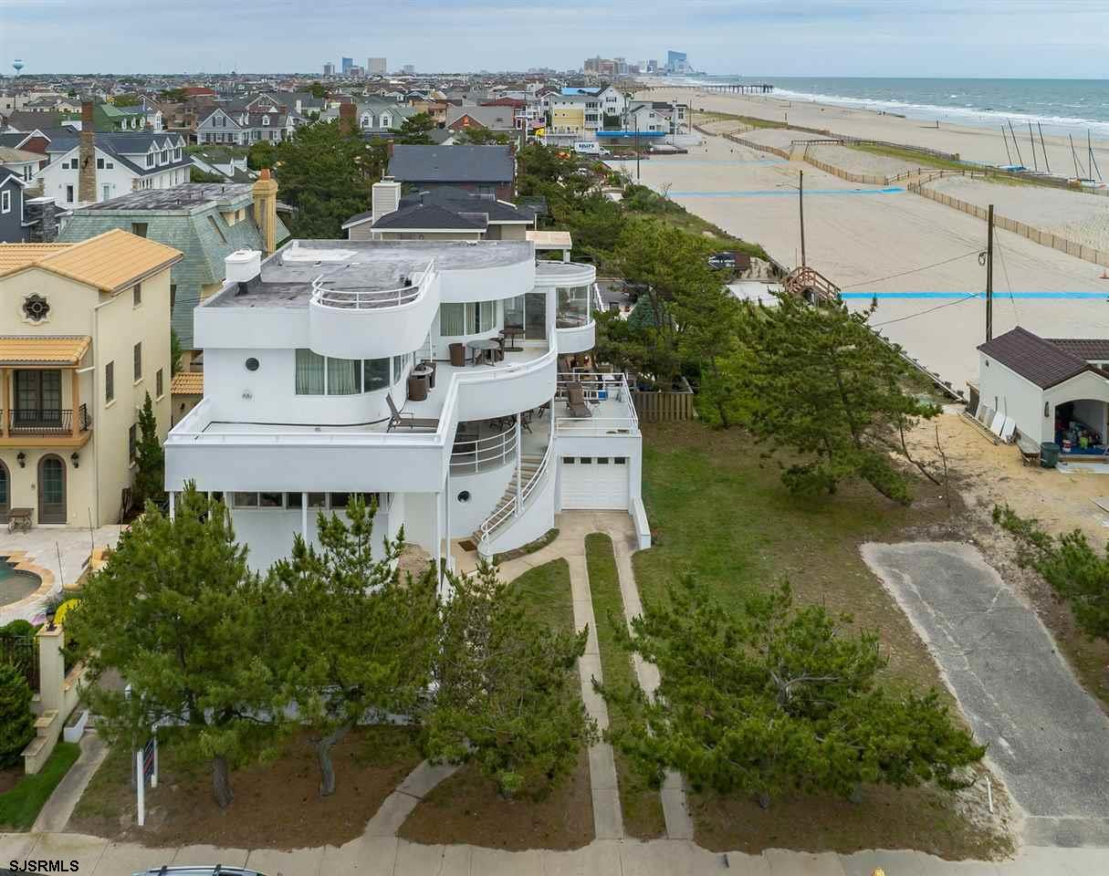 One of the best BEACH BLOCK locations on Absecon Island! 100' x 80' feet total...Current art deco home at 113 S. Rumson to be sold in conjunction with vacant lot next door at 115 S. Rumson...bot 50' x 80'. Street end is staggered, thus southern view is enhanced...also views to North as well! Contact broker for details.