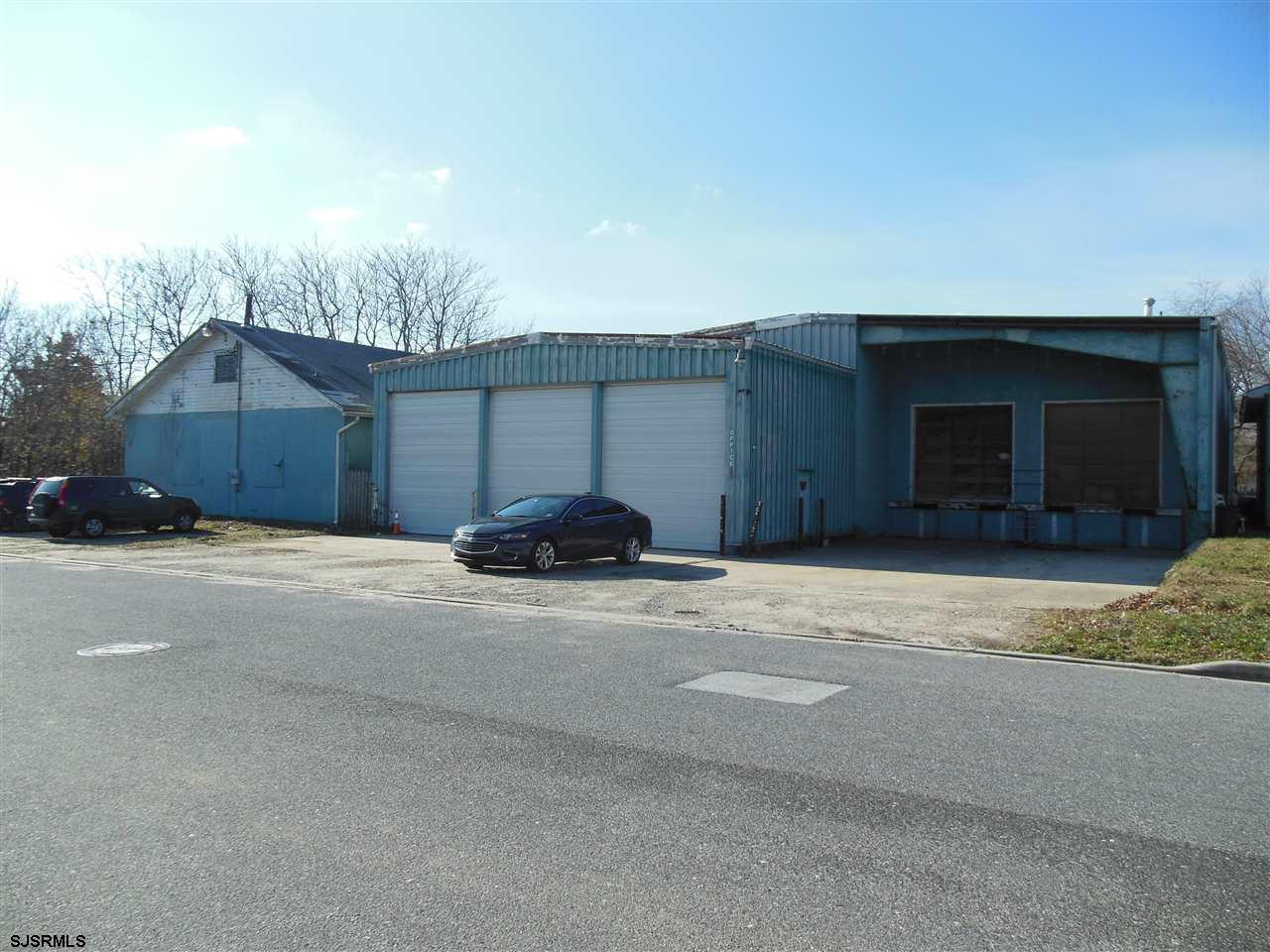 Great Opportunity to own approx. 9000 sq ft steel building with solid concrete floor, well insulated, natural gas heat, public utilities & loading docks. Clean wide open space , has an office area, break room and a bathroom. Also listed for rent , see mls # 515036... Call listing agent for details... BUYER RECENTLY HAD THE ACCESSMENT LOWERED FROM $288,800 DOWN TO $220,000 . HAS NOT RECEIVED NEW TAX BILL , BUT TAXES WILL BE SIGNIFICANTLY LOWER THEN LISTED CURRENTLY