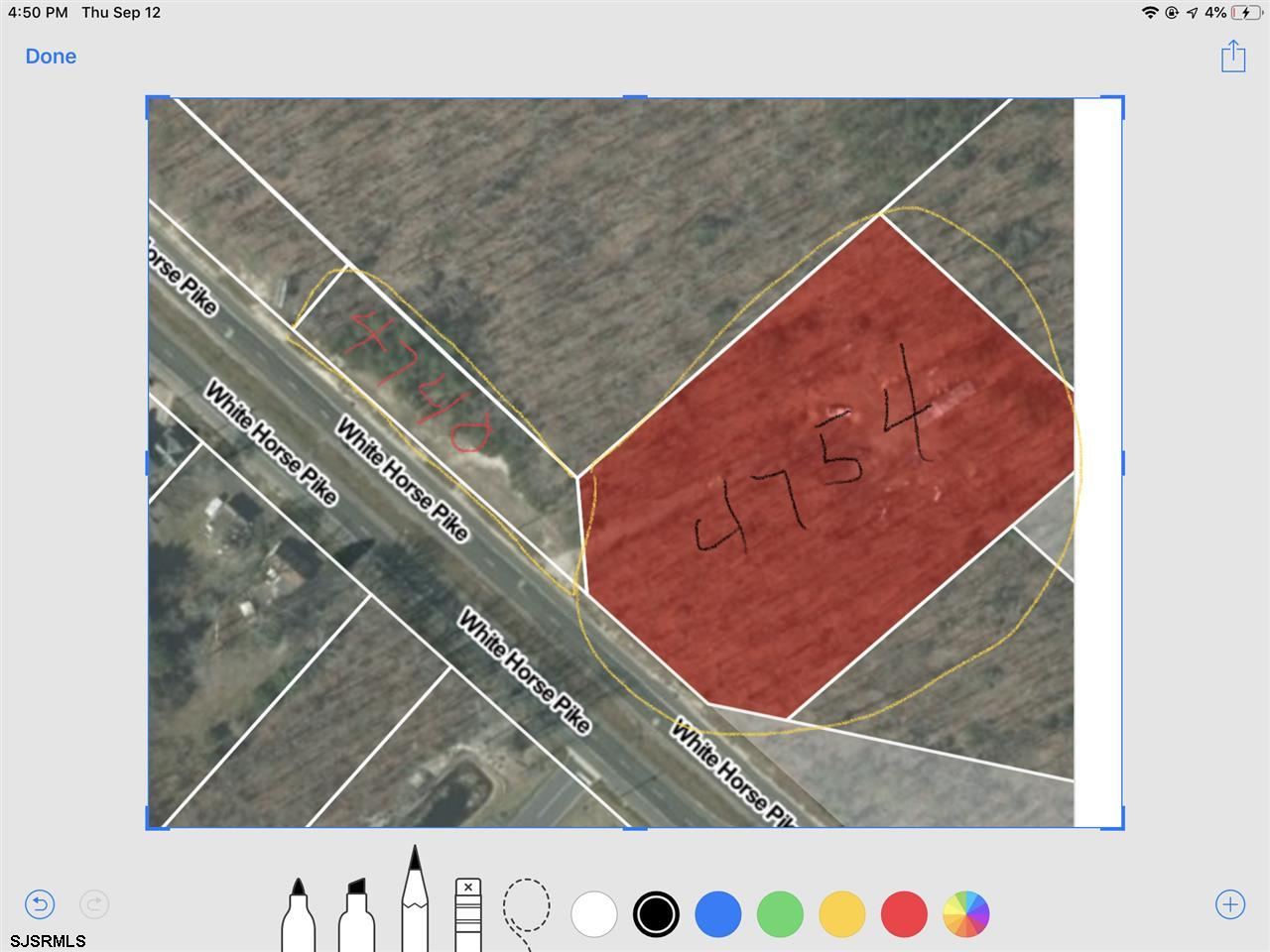 Commercial or residential, adjoining lots . Please verify land uses with the township of Mullica. 3.5 acres. Please verify all measurements