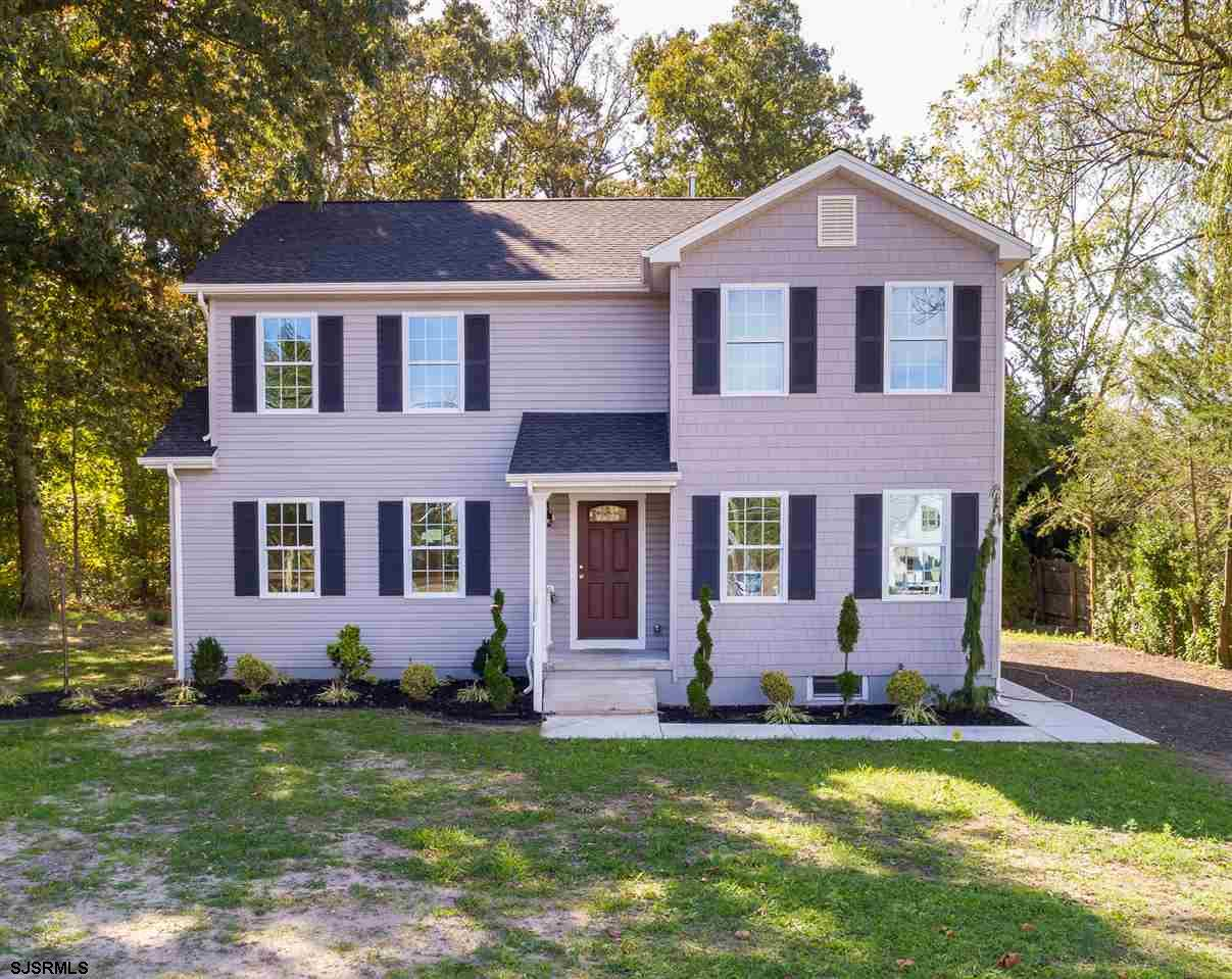 Gorgeous home. Remodeled to perfection. Over sized kitchen with upgraded stainless steel appliances. Large L shape Quartz counter top. Did you say a farmhouse table for 12? No problem! The open layout design is massive. 3 Generous sized bdrms. Master bedroom has a full bath and 2 walk in closets. An office on the main floor that can easily be converted to a 4th bdrm. Half bath also on main floor. Basement is plumbed for another full bathroom. Multi zoned HVAC system for efficiency.Backyard has just enough clearing. But enough foliage remaining for privacy and a tranquil setting. So much love and attention went in to rebuilding this charming home. This is a must see. Children will go to Hammonton public schools system. Covid Waiver is found