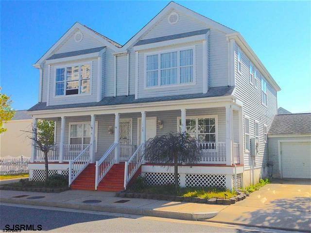 Up and coming Gardner's Basin Area . Spacious 3 Bedroom 2 1/2 bath home with fenced in yard ,porch & garage . Semi open first floor plan , Laundry on Second floor . Master bedroom with private bath and plenty of closet space . Year round or summer/casino getaway for your enjoyment .