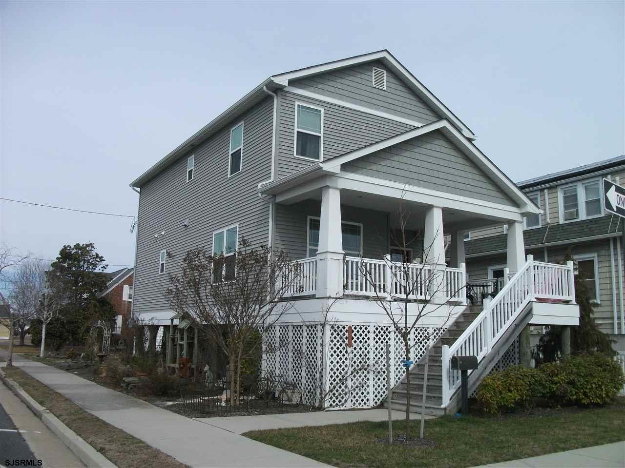 Full summer rental! This 4 bedroom, 1 and 1/2 bath home also features an enclosed outside shower with hot and cold water. The front porch and rear sitting areas offer relaxing times outdoors. Enjoy all the shore has to offer. Have a great summer.