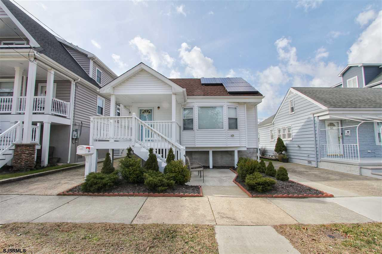 Situated on a huge 36' x 86' lot, this delightful 3 BR 2 BA home offers one of the largest yards in