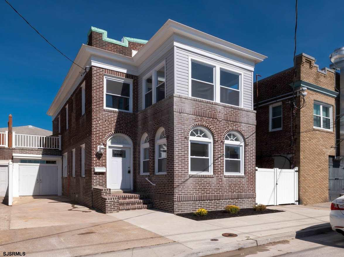 Fantastic price for this classic Ventnor brick home just one block away from the historic area Marve