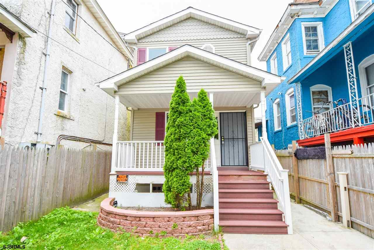 This beautiful 3 bedroom, 1.5 bath house is move in ready and located in the heart of Atlantic City.