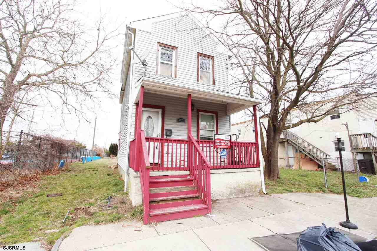 Great rental property investment or starter home on a quiet street in Atlantic City. This colonial s
