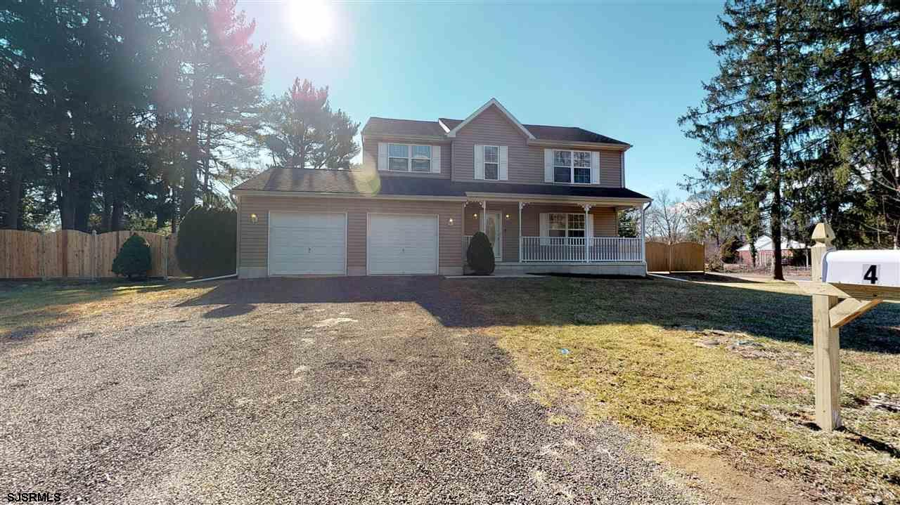 Renovated 3 Bed/3.5 Bath 2-story home features a large living room open to the dining room and kitch