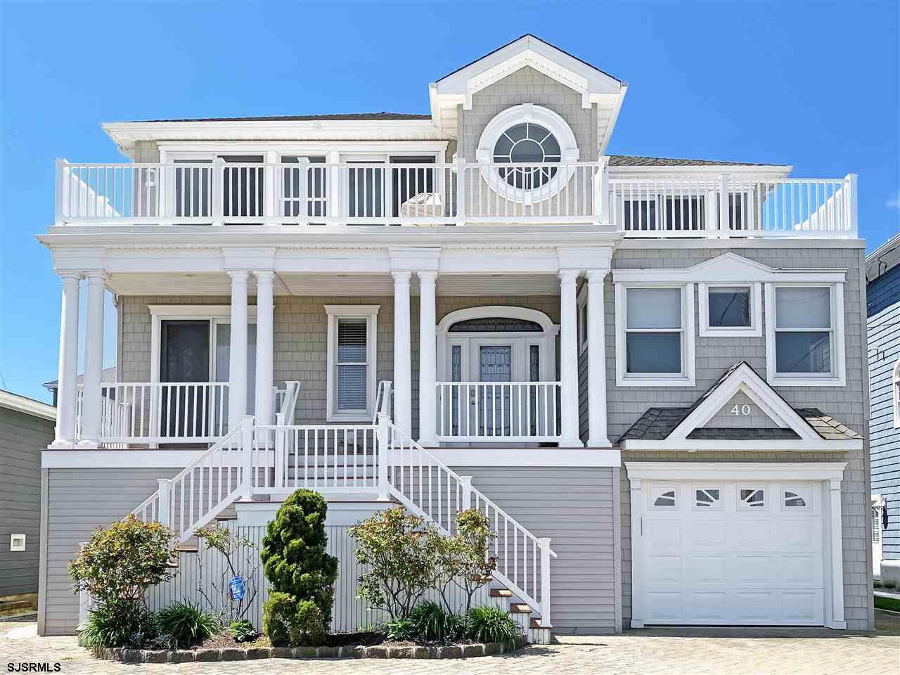 Bayfront Luxury Living in Brigantine resides here within this 5 bedroom/3.5 bath three-story home.