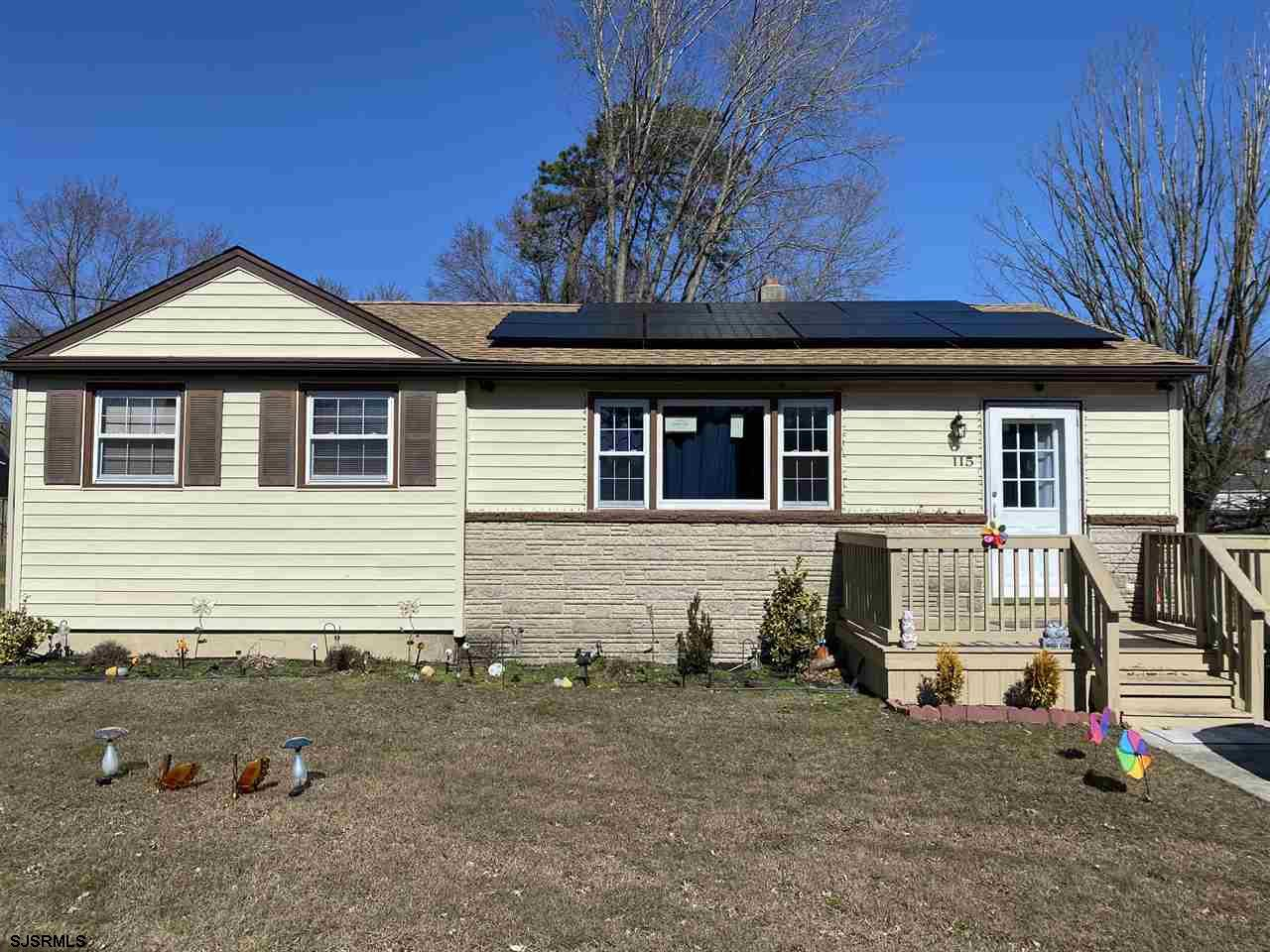 Lovingly maintained rancher featuring 3 Bedrooms and 1 Bath has, an updated kitchen with stainless s
