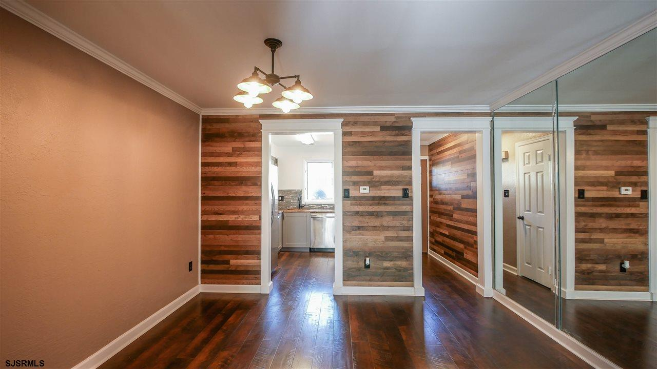 Beautifully remodeled two-story corner unit. 2 bedroom, 2 1/2 bath. Located in Galloway Township.
