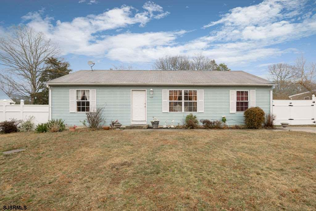 Northfield Rancher close to it all!  This 3 bedroom, 2 bath cozy rancher is situated on a large lot