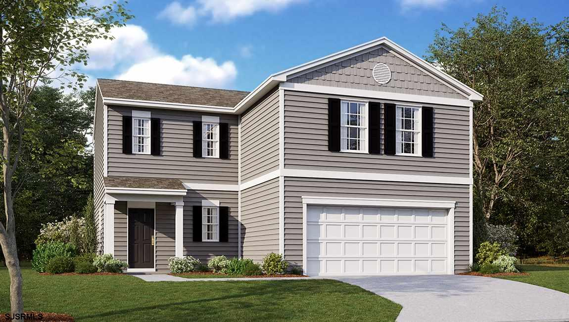 The Freeport by D.R. Horton is a new construction home plan featuring 1,649 square feet of living sp