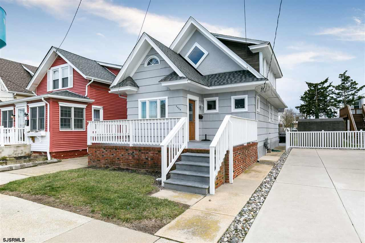 Continue the Jersey Shore family tradition here in this beautiful renovated bay side oasis! This cha
