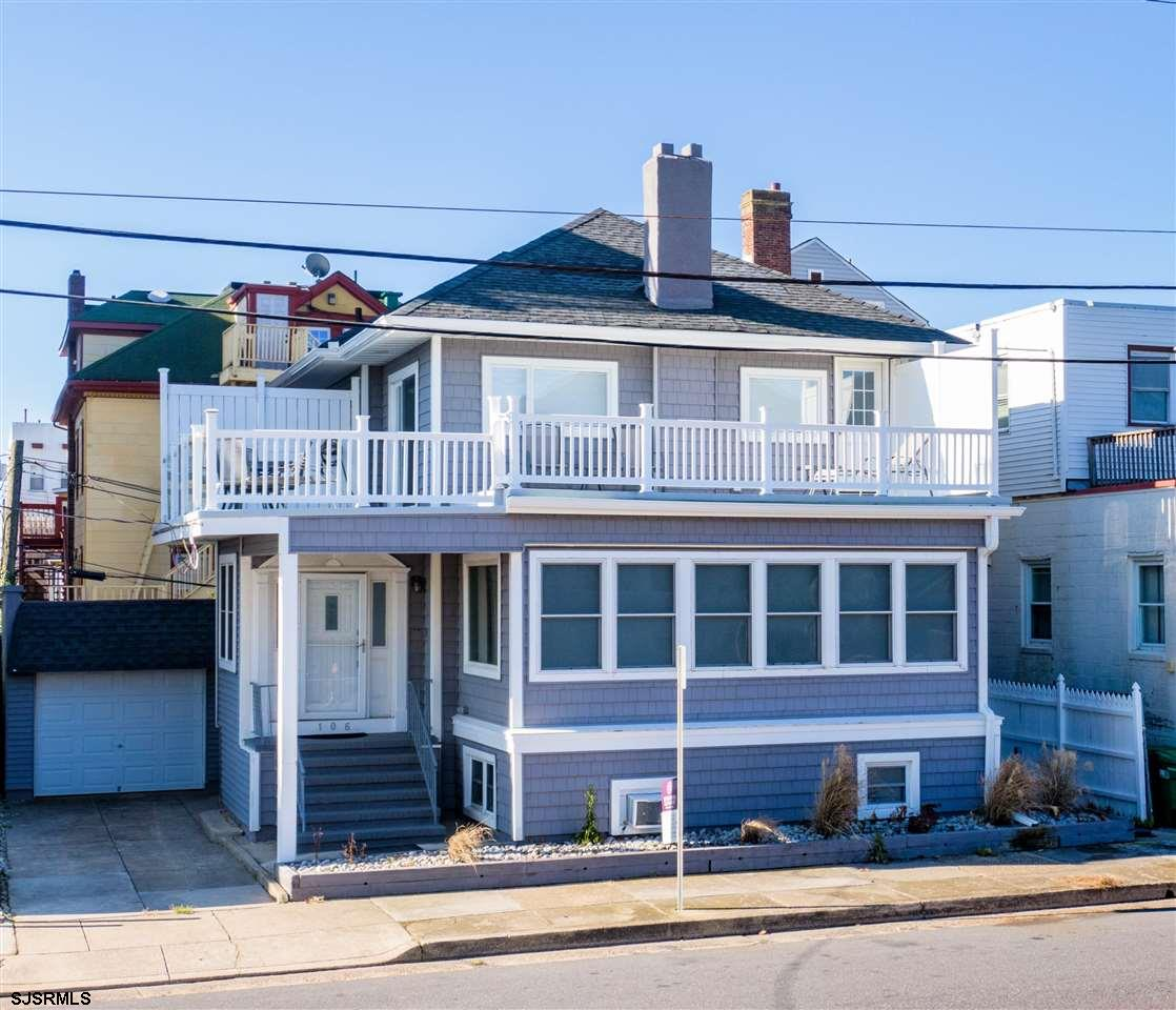 GREAT BEACH BLOCK HOME WITH ROOM FOR THE WHOLE FAMILY!! Renovated in 2017 having 6 bedrooms, 5 full
