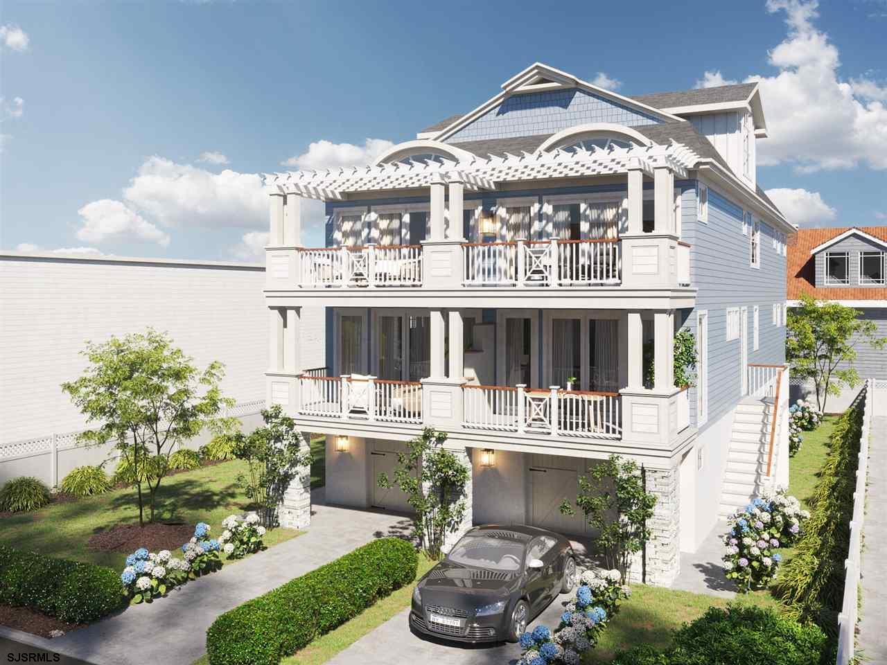 Luxury new construction in Margate's Presidential Streets by S. Baglivo. This four level, spacious t