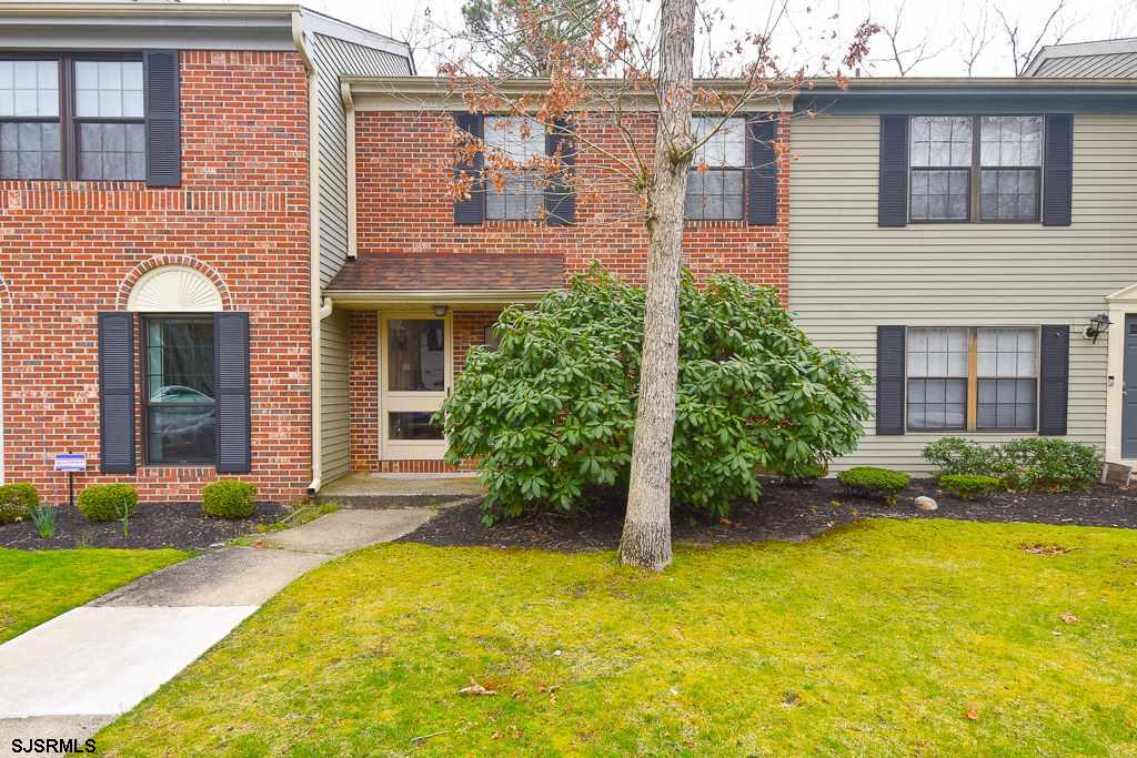 ****2 BR & 1.5 BA townhouse in desirable Woods at Great Creek****Brick front ***Lowest price townhom