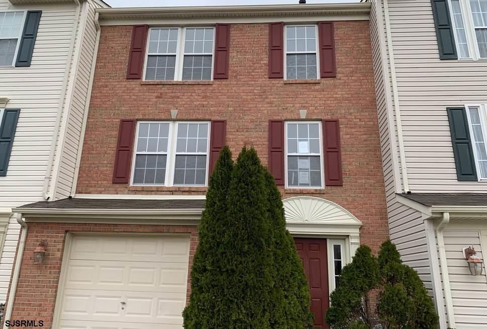 Ridge View Estates - this Brick Face, Three story, 3 Bedroom 2.5 Bathroom townhouse features an open