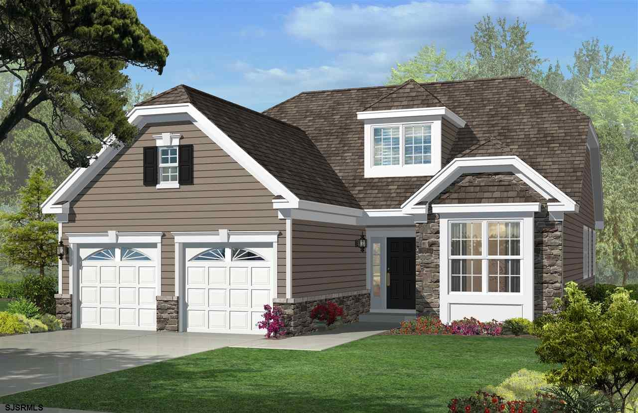 Lovely new construction Aria floor plan at fabulous Woods Landing.  Maintenance free living with law