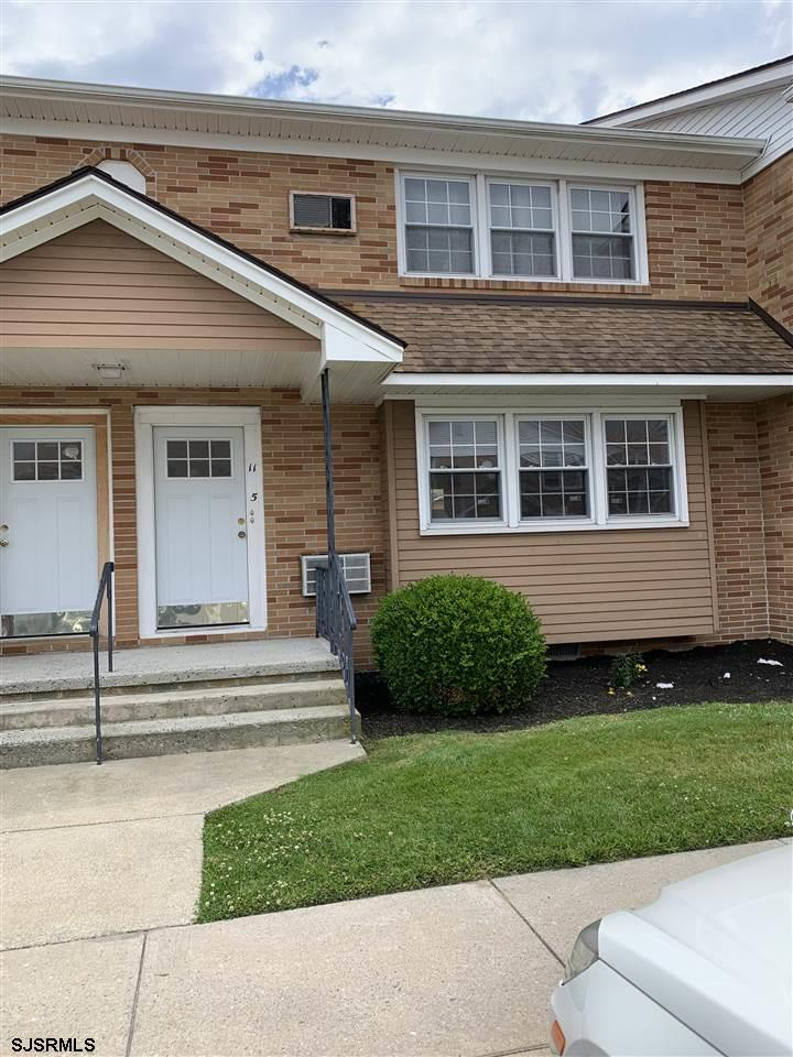First floor two bedroom unit .Upgraded  Eat in kitchen with plenty of cabinet space ,washer and dryer . Hardwood Floors .  Back porch entrance . Possible June 1st start . Current tenant trying to move out sooner the lease expiration