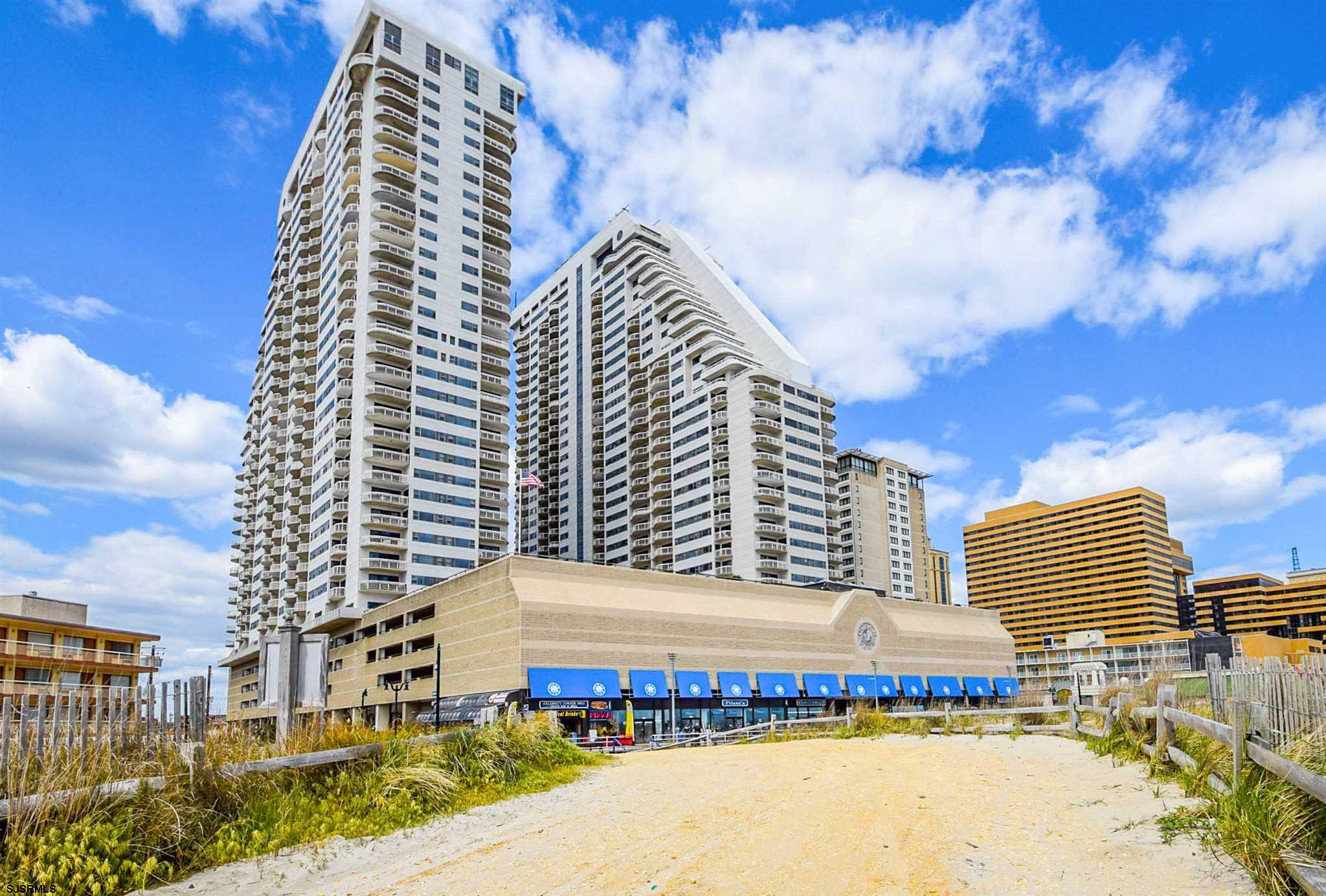 Beautiful large furnished 1 bedroom 1.5 bath corner unit has 2 balconies with gorgeous SOUTHERN, OCE