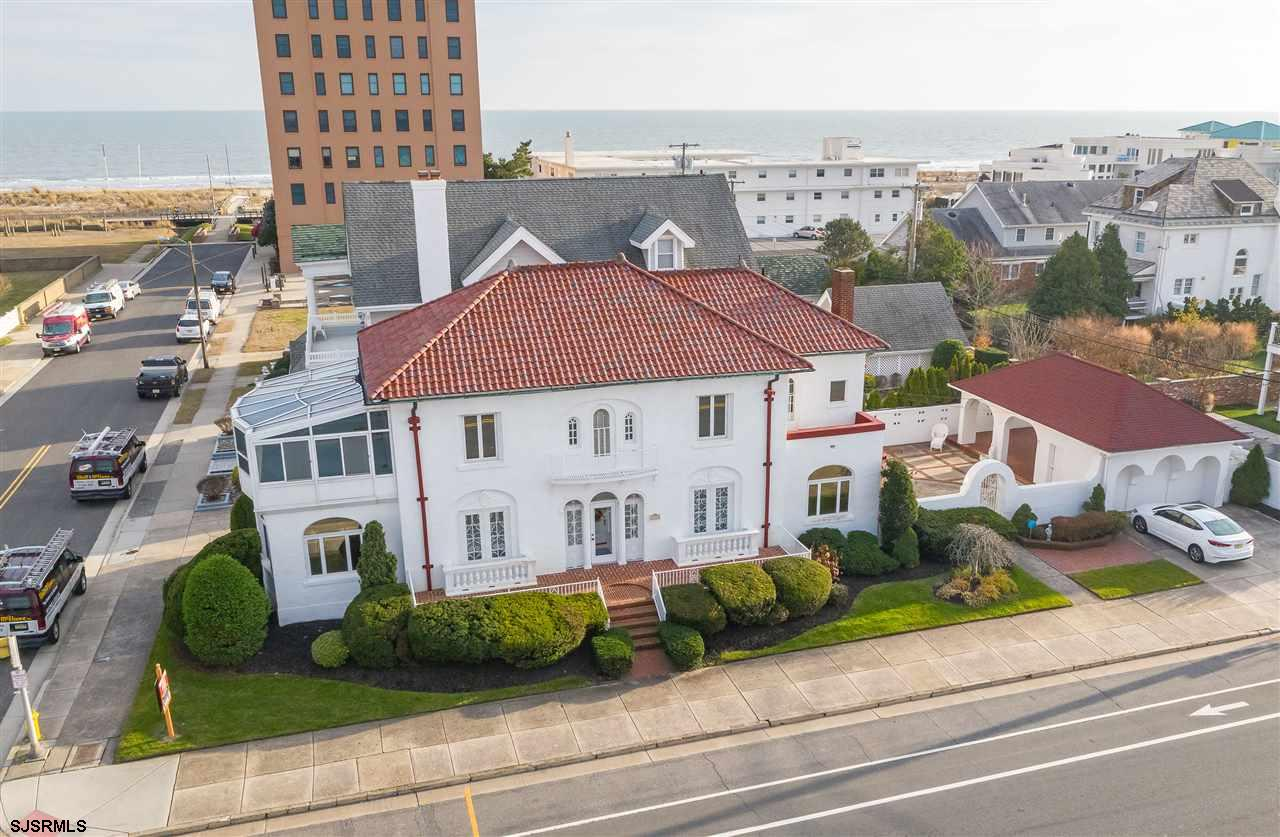 This Classic beach block Mediterranean style estate is situated in the heart of St. Leonard's Tract