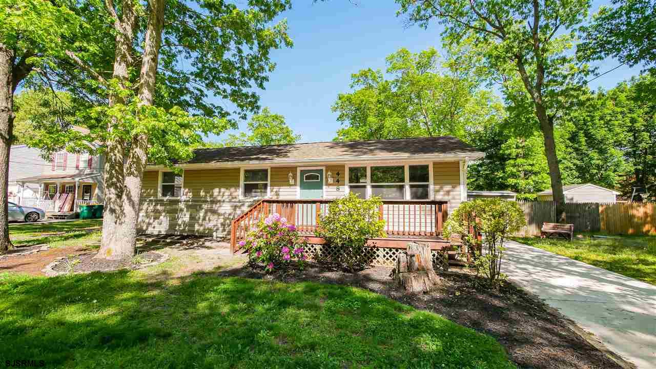 Adorable ranch home, recently renovated. Featuring spacious kitchen with beautiful white cabinetry,