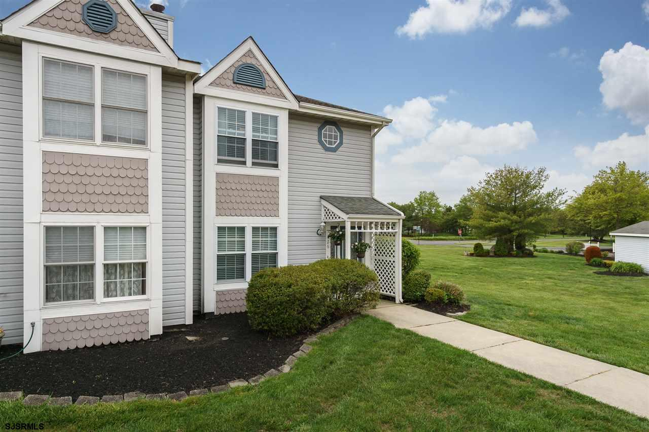 Welcome home! A rare opportunity for a renovated end unit in Atlantic County's most peaceful little