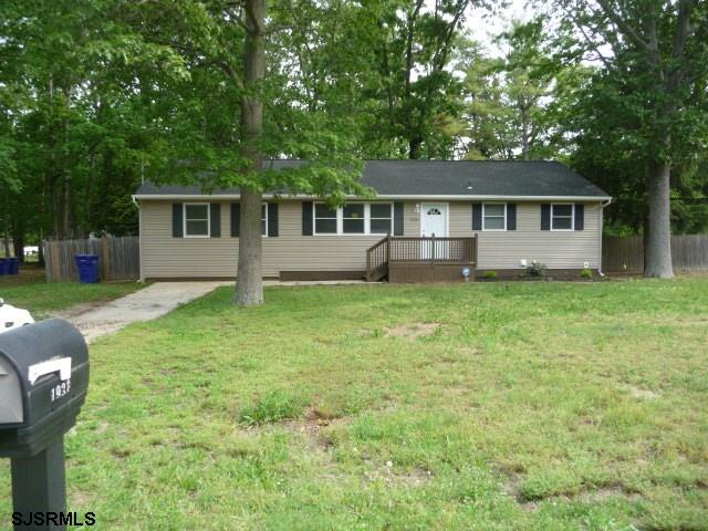 Renovated 3 BR, 1 BA ranch with large fenced yard. Freshly painted & new flooring, new kitchen w stainless appliances, new bath, large open basement, front deck. Seller will provide well and septic certs at closing. Easy to show and wont last at this price!
