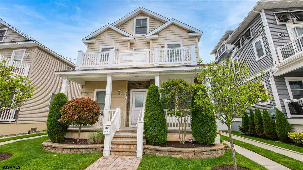 Walk to everything from this fabulous newer construction home in the heart of Margate! Located only
